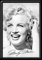 Marilyn Monroe Portrait lacht