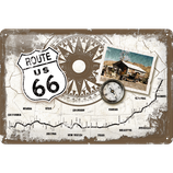 Route 66 Kompass