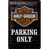 Harley Davidson Parking only Mauer