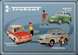 Trabant drei Modelle