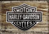 Harley Davidson Holz
