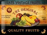 Vintage Früchte