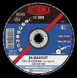 DISCO DE CORTE T-41 4-1/2 X 1.0 X 22.2 INOX ZA-MAXICUT