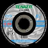 DISCO T-27 DESBASTE 4 1/2 X 1/4 X22.2 A36 PULIDO AC. INOX.