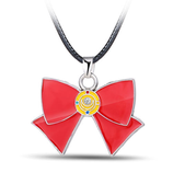 Colgante Sailor Moon Lazo Rojo