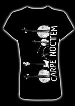 """T-Shirt CARPE NOCTEM """"Schwarz/Weiß-Edition"""""""