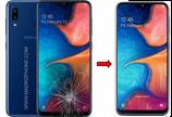Cambiar / Reparar Cristal de la pantalla Samsung Galaxy A20e SM-A202F