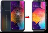 Cambiar / Reparar Cristal de la pantalla Samsung Galaxy A50 SM-A505F