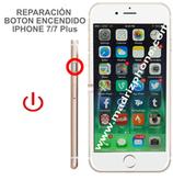 Cambiar / Reparar Botón Encendido  iPHONE 7 / 7 Plus Original