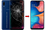 Cambiar / Reparar pantalla completa Samsung Galaxy A20e SM-A202F Original
