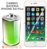 Cambiar Bateria iPHONE 8 / 8 Plus Calidad Original