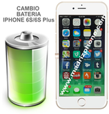 Cambiar Bateria iPHONE 6s / 6s Plus Blanco/Negro Calidad Original
