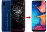 Cambiar / Reparar pantalla completa Samsung Galaxy A20 SM-A205F Original