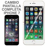 Cambiar / Reparar Pantalla Completa Compatible iPHONE 7 Blanco/Negro