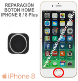 Reparar / Cambiar Botón Home  iPHONE 8 / 8 Plus
