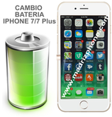 Cambiar / Sustituir Batería iPHONE 7 / 7 Plus Calidad Original