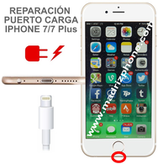 Cambiar / Reparar Conector de carga  iPHONE 7 / 7 Plus Original
