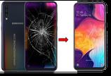 Cambiar / Reparar pantalla completa Samsung Galaxy A50 SM-A505F Original