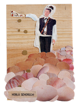 Postkarte Hobla Schorsch