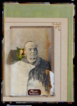 Postkarte Chabisbletter