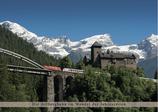 Kalender (mehrjährig): Die Arlbergbahn im Wandel der Jahreszeiten