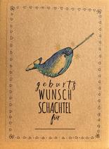 GEBURTS WUNSCH SCHACHTEL VARIANTE NARWAL