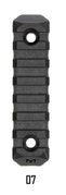 M-Lok7 / 7 Slot Multi Direktional Mountig Picatinny Rail