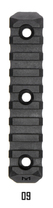M-Lok9 / 9 Slot Multi Direktional Mountig Picatinny Rail