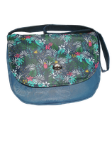 kit sac besace bicolore tropical Bleu