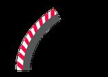 Außenrandstreifen für Kurve 1 / 60°