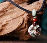 collier ras de cou ethique pierres naturelle