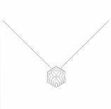 Collier hexagone