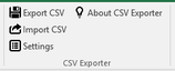 Excel CSV Exporter