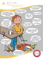 RIT-Comic-Symptome-Karten 25 Stück