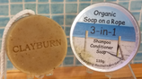 Organic 3-in-1 Shampoo Bar
