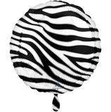 Ballon Geburtstag: Zebra Print Animalz