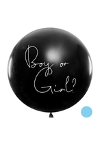 1 Riesenballon XL - Ø 1m - Boy or Girl