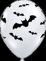 97350 Fledermäuse Bats Diamond Clear - Latexballon rund
