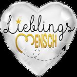 L0060 Folienballon LieblingsMENSCH