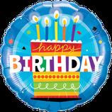 Ballon Geburtstag: Birthday Cake Torte