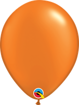 Pearl Mandarin Orange - Latexballon rund