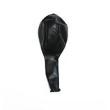 Onyx Black - Latexballon rund (unbefüllt)