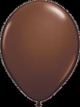 Chocolate Brown - Latexballon rund