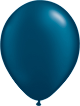 Pearl Midnight Blue - Latexballon rund