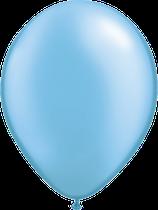 Pearl Azure Blue - Latexballon rund
