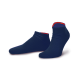 Feuerland Sneaker | von Jungfeld Herren Sneaker in Marineblau - Feuerrot.