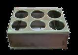 Besteckbehälter für 6 Besteckköcher * gebraucht *