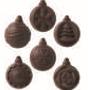 24 EMPREINTES 6 mini boules de Noël