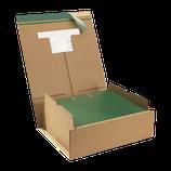 Ordner-Verpackung, für zwei Ordner DIN A4 Maße 385x313x130 mm