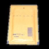 200 Luftpolster-Versandtaschen braun 100x165mm Gr. 1